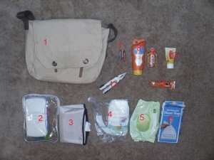 A Man's Diaper Bag